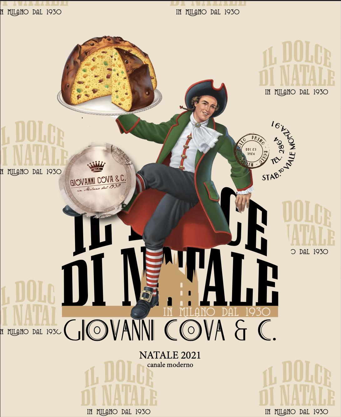 Copertina catalogo GDO Giovanni Cova e C Natale 2021